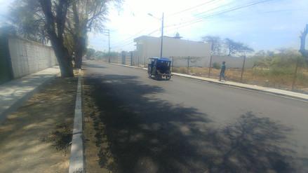 Municipalidad de Piura terminó con rehabilitación de avenida Los Tallanes