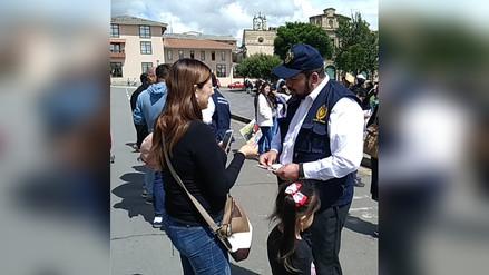 Lanzan campaña contra accidentes de tránsito durante carnavales en Cajamarca