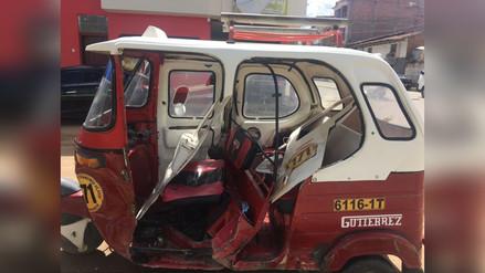 Accidente de tránsito deja dos heridos en Huamachuco