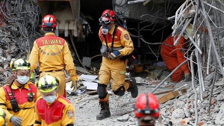 Terremoto en Taiwán: rescatistas trabajan contrarreloj en la búsqueda de sobrevivientes