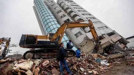 Taiwán rechazó la ayuda de China para las labores de rescate tras el terremoto