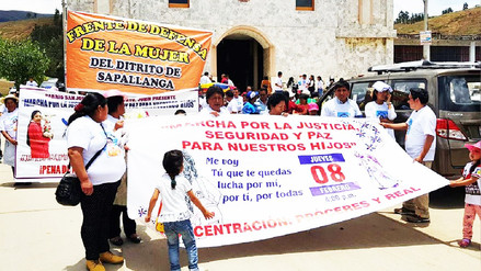 Huancayo: realizan misa por menor asesinada en Lima