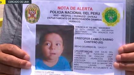 Padre pide que busquen a su hijo de dos años desaparecido en Huánuco