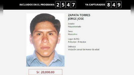 Capturan a hombre buscado por violación sexual de menor