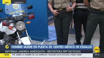 Un anciano murió en la puerta de un policlínico de EsSalud de Carabayllo
