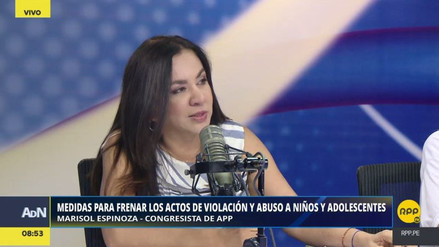 Marisol Espinoza alertó que no hay una política de salud mental en el Perú