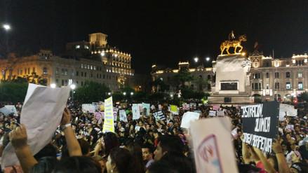 Miles de personas participaron en la marcha 'Jimena Renace' en el centro de Lima