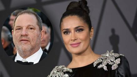 Salma Hayek reveló detalles de las amenazas de Harvey Weinstein