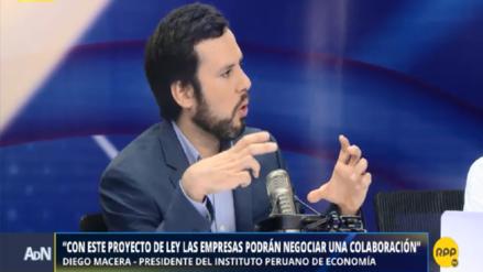 Diego Macera: Crisis de constructoras puede costarle al Perú 1 punto del PBI