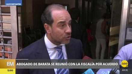"""Abogado de Jorge Barata: """"Él está a disposición para declarar"""""""