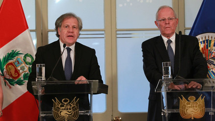 """Luis Almagro: """"PPK demostró firmeza y liderazgo en decisiones importantes"""""""