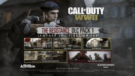 Mis impresiones de The Resistance, el primer DLC de Call of Duty: WWII
