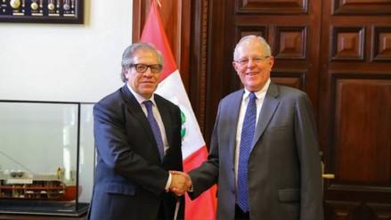 El secretario general de la OEA hará este viernes una visita oficial al Perú