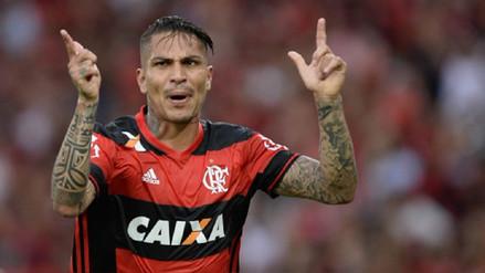A pesar de sanción, Guerrero seguirá utilizando el mismo dorsal en Flamengo