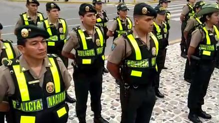 Policía lanzó plan para descongestionar tránsito y reforzar seguridad en Chiclayo