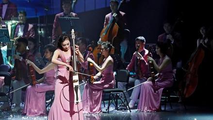 Una orquesta norcoreana ofreció un histórico concierto en Corea del Sur