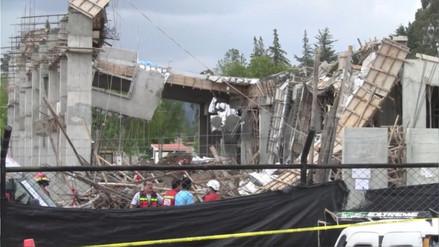 Techo en construcción colapsó y nueve obreros quedaron heridos en Cajamarca