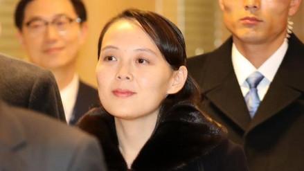 La hermana de Kim Jong-un llegó a Corea del Sur para asistir a los Juegos Olímpicos