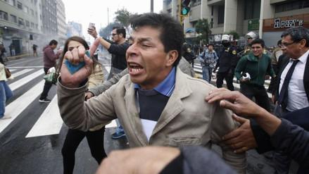El Sutep no avala el llamado a huelga de Pedro Castillo