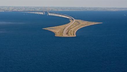Fotos | Oresund: el asombroso puentunel que conecta Dinamarca y Suecia
