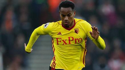 Carrillo suma solo 15 minutos jugados en los últimos 3 partidos del Watford