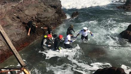 Dos peruanas murieron en Chile tras ser arrastradas por una ola mientras se tomaban una foto