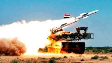 Siria aseguró haber impactado más de un avión israelí en su ataque