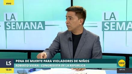"""Vieira sobre la pena de muerte: """"Tomemos de ejemplo los tribunales sin rostro"""""""