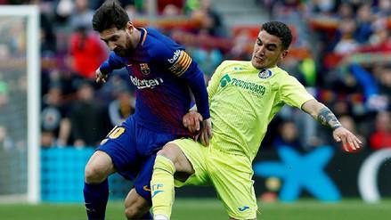 Barcelona igualó sin goles con Getafe en el Camp Nou