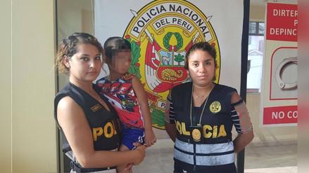 Niño ecuatoriano desaparecido fue hallado en Trujillo