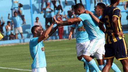 Sporting Cristal goleó 4-1 a Sport Rosario en el Alberto Gallardo