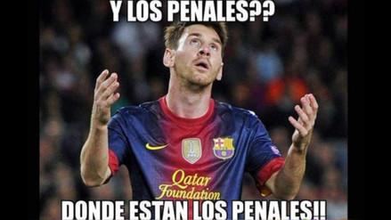 Barcelona es víctima de memes tras empatar sin goles con Getafe