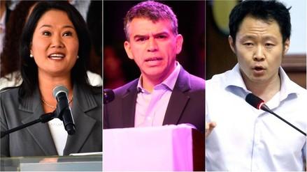 Ipsos | Keiko Fujimori, Julio Guzmán y Kenji Fujimori lideran intención de voto presidencial