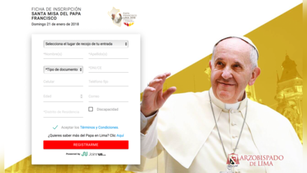 ¿Cómo se gestionó el ingreso a la misa del Papa Francisco en Las Palmas?