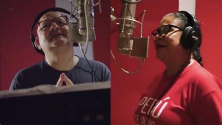 Eva Ayllón y Fahed Mitre graban 'Enamorado de mi país' en versión balada