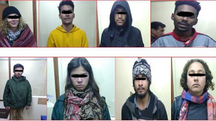 Intervienen a ocho extranjeros que se encontraban en conocida 'Casa Embrujada'