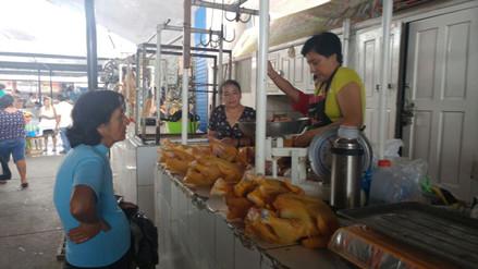 Precio del pollo se incrementó en mercados de Chiclayo
