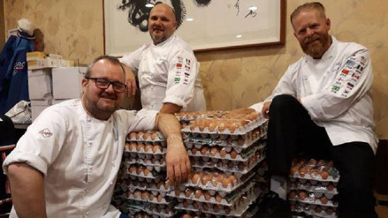 El equipo noruego recibió 15.000 huevos en los Juegos Olímpicos por un error de traducción