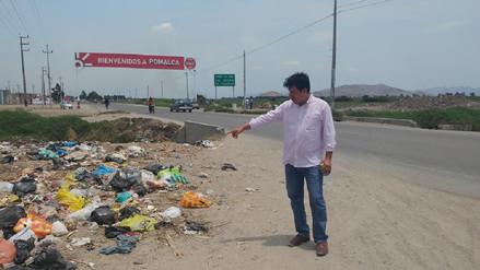 Alcalde de Pomalca rechaza informe que revela deficiencias de limpieza en su localidad