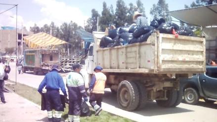 Tres días de carnaval dejaron 500 toneladas de basura en Cajamarca