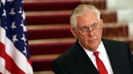 Rex Tillerson reconoció que el Estado Islámico aún no ha sido derrotado