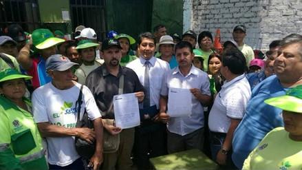 Trabajadores de limpieza pública levantan huelga indefinida