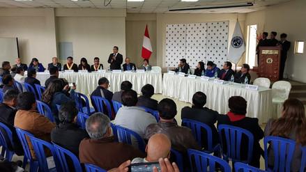 Autoridades acuerdan medida de lucha por peaje en Tíclio