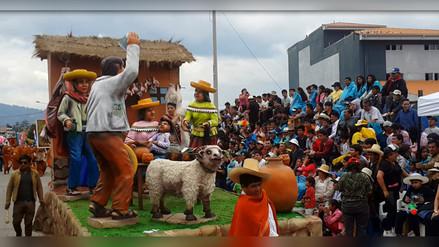 Miles de cajamarquinos y visitantes participaron de Gran Corso de Carnaval