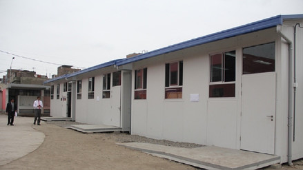 Llegan a Caravelí las primeras aulas prefabricadas tras sismo ocurrido en Enero