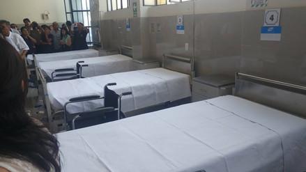 Con más de 2 millones renuevan el 100% de camas en Hospital Las Mercedes