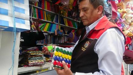 Digesa Arequipa: Útiles escolares deben tener etiquetado correcto y autorización sanitaria