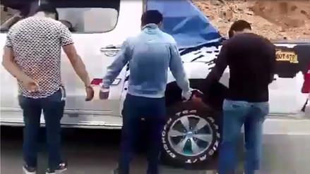 Detienen a presuntos asaltantes de carreteras en Huamachuco