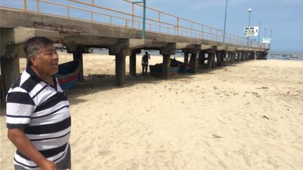 Video | Mar se retiró más de 50 metros en la caleta de Coishco Viejo