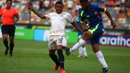 Universitario probó a Alberto Quintero como '9' para enfrentar a San Martín